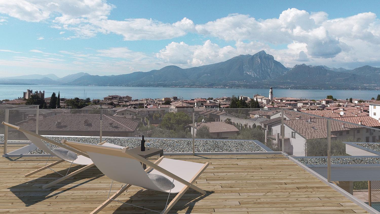 La Immobilien Residence Anna Torri Del Benaco Gardasee